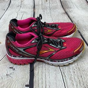 Brooks Ghost 7 Running Shoes Sneakers Pink size 7